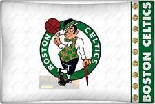 FEDERA CUSCINO CELTICS ORIGINALE NBA BOSTON VERDE LETTO BASKET FODERA FAN USA