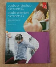 Adobe Photoshop Elements & Adobe Premiere Elements 13 Full Version PC and MAC