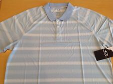 Oakley Hydrolix golf men's Mist Blue polo shirt, size XXL, NWT!