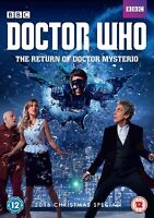 Doctor Who - The Return of Doctor Mysterio [New & Sealed DVD] 2016 Xmas Special+
