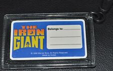 The Iron Giant 1999 Original 2x3 Lenticular Motion Luggage Tag! Animation Epic!