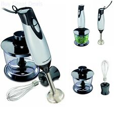 Food Salad Blender Stick Vegetable Mixer Tool Two Speed Hand Breakfast Kitchen