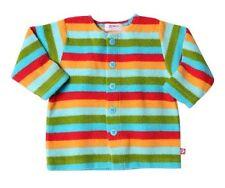ZUTANO Unisex Baby Cozie Striped Fleece Jacket 12-18 Month Retail $26.50