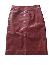 DKNY Leather Skirt Sz 8