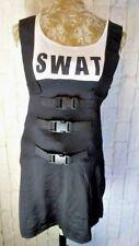 Size SMALL / MEDIUM Leg Avenue SEXY SWAT Spirit Halloween Costume Police DRESS