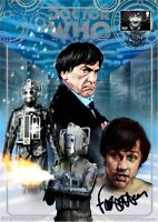 The 2nd Doctor Who Official 50th Anniversary 'Stamped' Print signed Frazer Hines