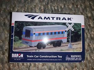 Best Lock BL052 Amtrak Construction Toy 136 Piece