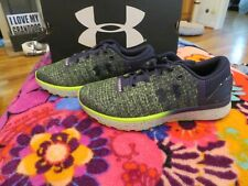 Brand New Boys Blue & Yellow Under Armour Charged Bandit 3 Tennis Shoes, 5