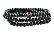 Mala Buddha Gebetskette, Rudraksha Hindu Tibet Sandelholz mit Perlen (TG00019)