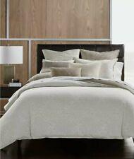 Hotel Collection Pebble Diamond Cotton Beige King Duvet Cover $420