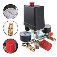 125PSI Air Compressor Pressure Switch Control Valve Regulator Gauges 12Bar 16A