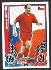 #14 TOPPS - MATCH ATTAX CARD GAME  - ENGLAND 2012 - ROMAN HUBNIK -CZECH REPUBLIC