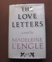 SIGNED -THE LOVE LETTERS - Madeleine L'Engle-1st 1966 HCDJ-wrinkle in time