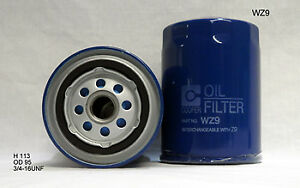 Wesfil Oil Filter WZ9 fits Ford Courier 2.5 TD (PE), 2.5 TD (PG), 2.5 TD (PH)...