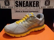 Nike Womens Lunarglide Livestrong - 408921 007 - Grey / Varsity Maize - Size: 9