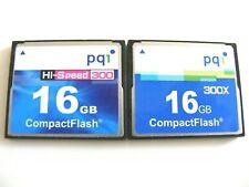 16GB Compact Flash Card PQI ( 16 GB CF Karte PQ1 ) gebraucht