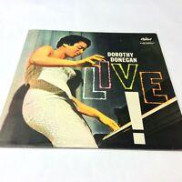 Dorothy Donegan 'Live' Rare 1959 Capitol Vinyl LP PROMO Copy EX/EX- Nice!