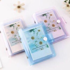 Jelly Cover Mini Viscose Photo Holder & Album For Fuji Instax & Name Card Binder