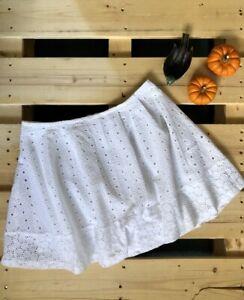 Banana Republic White Skirt - Szie UK10