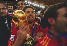 XABI ALONSO - Hand Signed 12x8 Photo - Real Madrid Liverpool Spain - Football