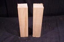 "2 Pc Butternut Carving Lathe Turning Blanks 2 x 2 x 8"" Craft wood Lumber"
