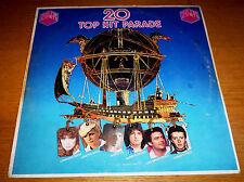 20 TOP HIT PARADE Berté Radius Tozzi Celentano LP Derby 1978 made in Italy