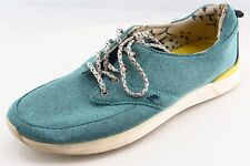 Reef  Fashion Sneakers Blue Fabric Women9Medium (B, M)