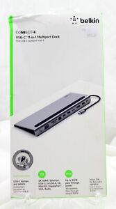 Belkin USB-C 11-in-1 Multiport Dock - BRAND NEW DAMAGED BOX