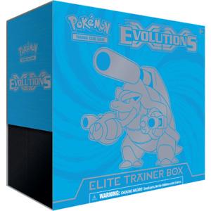 XY Evolutions Mega Blastoise Elite Trainer Box Pokemon TCG Sealed XY12