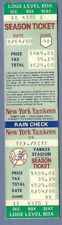 Reggie Jackson HR 399 full season ticket August 4 1980 Yankees HOF 30th HR of yr