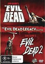 THE EVIL DEAD 1 - 2: Dead By Dawn : NEW DVD