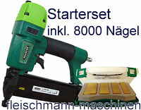 J-Box Starter-Set Prebena Druckluftnagler 2XR J50 und J Box Nagler 2XR-J50