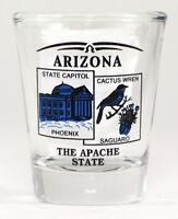 ARIZONA STATE SCENERY BLUE NEW SHOT GLASS SHOTGLASS
