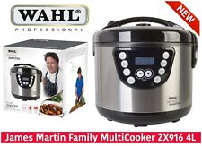 James Martin By Wahl ZX916 Multi Cooker 4L LED 24H Timer &Programs & Recipe Book
