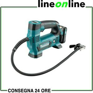 Mini compressore per auto portatile Makita MP100DZ a batteria pressione 8,3bar