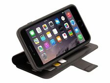 Griffin Identity Wallet Flip Case Rubber - Black Apple iPhone 6Plus/6S PLUS