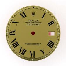Vintage Men's Rolex 36mm Datejust NQ 1600 1601 1603 Champange Roman Dial 2/T L30