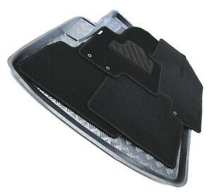 passend für Ford S-Max Fußmatten Kofferraumwannen Set Baujahr 2006 - 2014 wosov