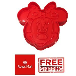 Minnie Mouse Disney Biscuit Cookie Pastry Cutter Cake Baking Decoration