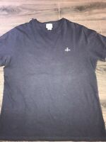 Vivienne Westwood MAN  mens navy classic tshirt size XXL embroidered orb