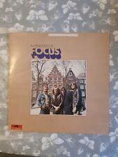 In And Out Of Focus Focus vinyl LP album record UK 2344003 POLYDOR 1971  USA PRE