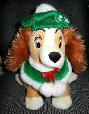 """Disney Store Lady And The Tramp 13"""" Plush"""