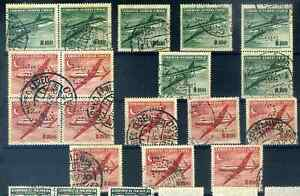 Chile Sth America 250 perfins DFC of Duncan Fox Co Netherlands Ship company