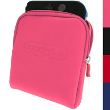 Pink Neoprene Sleeve Protective Travel Pouch Carry Case Cover for Nintendo 2DS