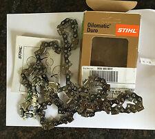 """Stihl carbide tipped 20"""" chainsaw chain D3  .063 3/8 72 dl"""
