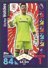 TOPPS MATCH ATTAX 2016-17 #200-MIDDLESBROUGH-VICTOR VALDES
