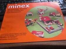 Märklin folleto comercial de minex de 1976,wie nuevo!