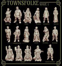 RPG Miniatures - Townsfolke Collection Set 1 - NPCs