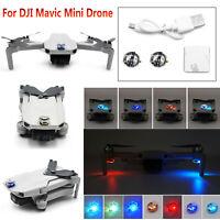 Per DJI Mavic Mini Drone Colorful Flash LED Night Flight Light Lamp Rechargeable