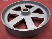 Hercules Hit & Miss Gas Engine Flywheel Engine Cart Wheel Cast Iron